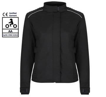 Moto Girl Louise Jacket Ladies Waterproof Motorcycle Motorbike Textile Jacket